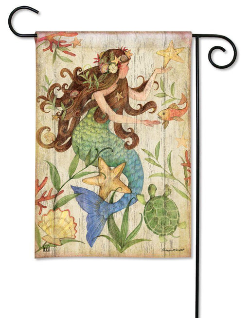 Garden Flags - Garden Flag - BreezeArt - Mermaid