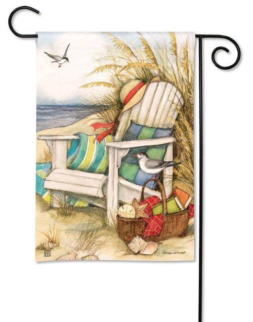 Garden Flags - Garden Flag - BreezeArt - Time To Relax