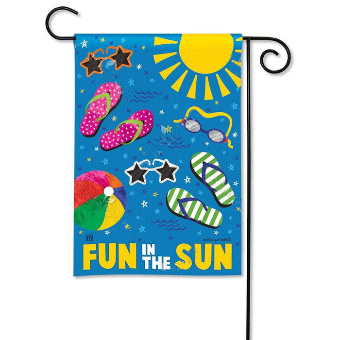 Garden Flag - BreezeArt - Summertime Fun