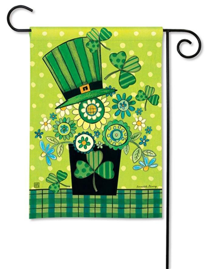 Garden Flag - BreezeArt - Blooming Irish