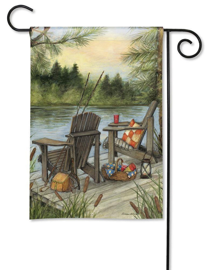 Garden Flags - Garden Flag - BreezeArt - Lakeside