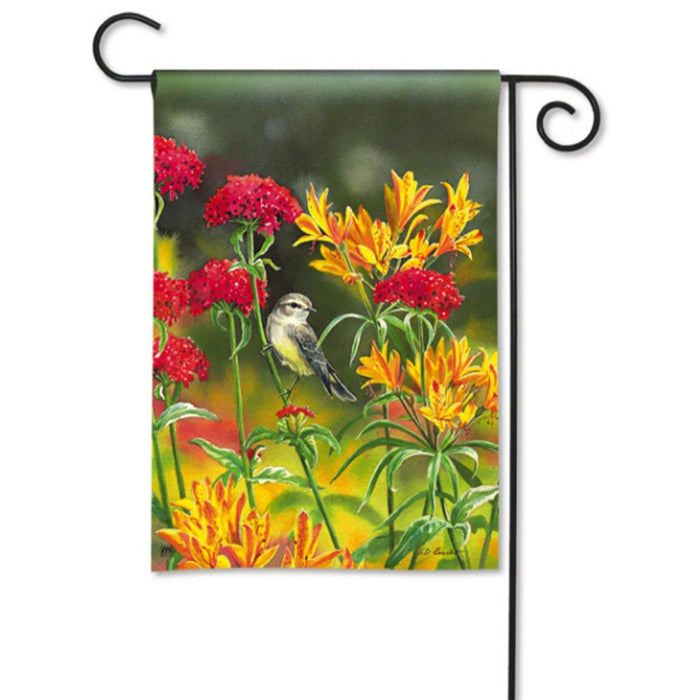 Garden Flag - BreezeArt - Summer Flowers