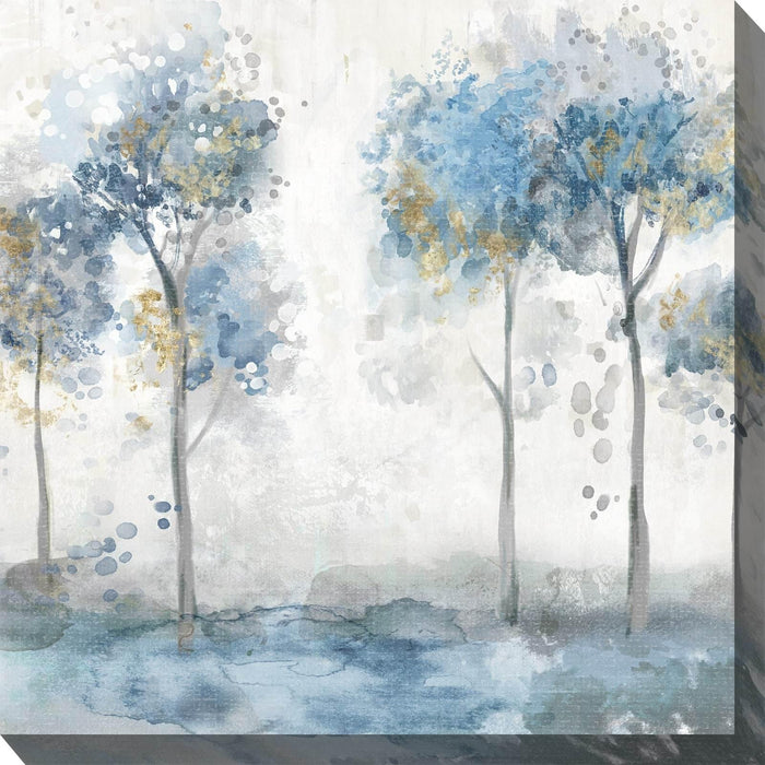 Outdoor Canvas Art 24x24 Glimmering Mist 1
