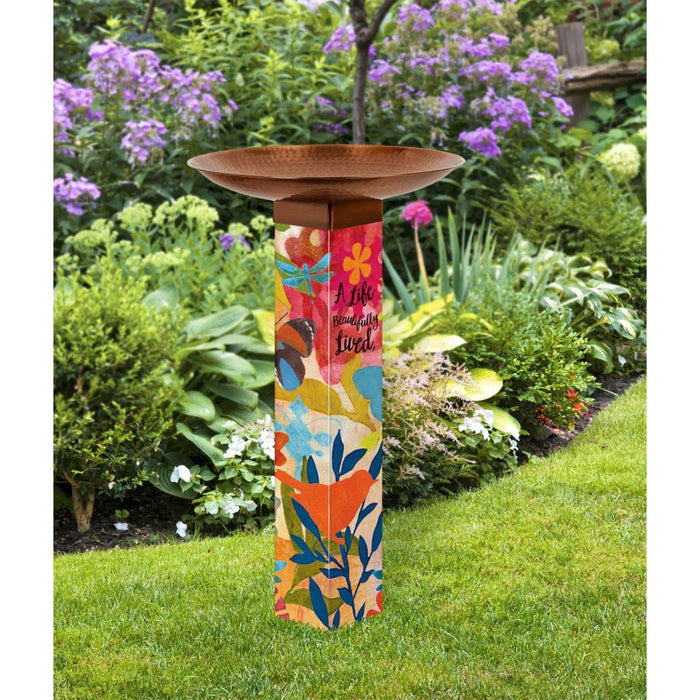Art Bird Bath - Sentimental Journey