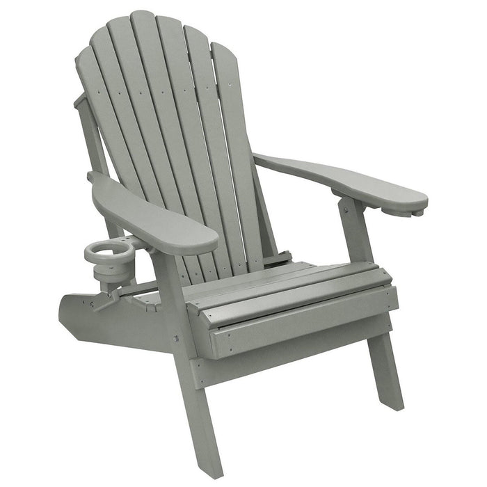 Deluxe Adirondack Chair Poly Lumber Made in the USA - My Backyard Decor
