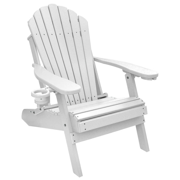 Deluxe Adirondack Chair Poly Lumber Made in the USA
