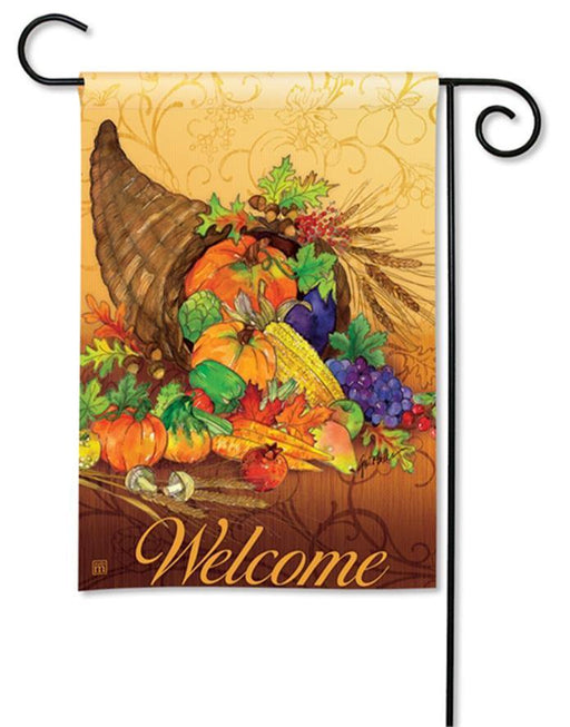 Garden Flags - Garden Flag - BreezeArt - Bountiful Harvest