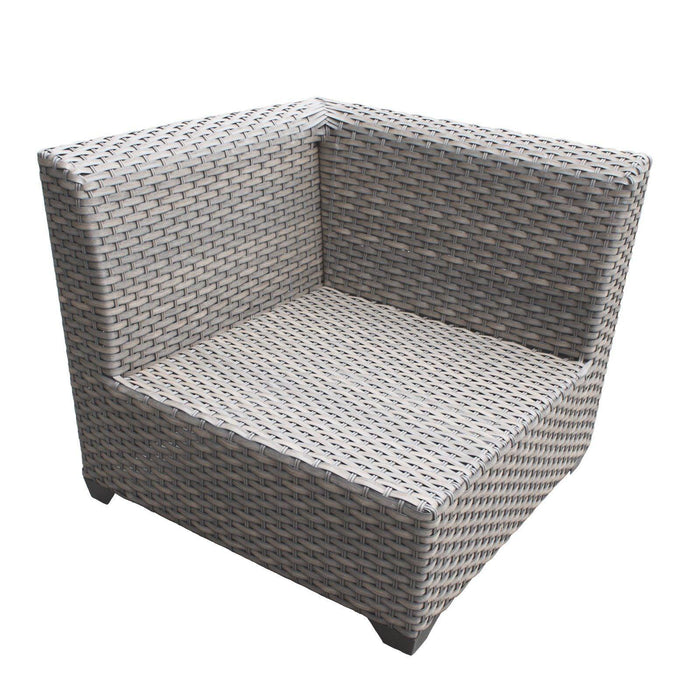 Patio Furniture - TKC Outdoor Wicker Patio Furniture – 2 Corner Pieces – Florence
