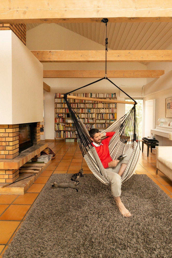 Chair Hammock Suspension Set - Wall, Post, Ceiling