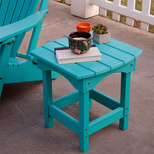 Patio Side Table - Poly Lumber Side Table Made In The USA