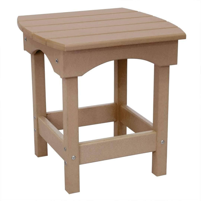 Poly Lumber Side Table Made in the USA