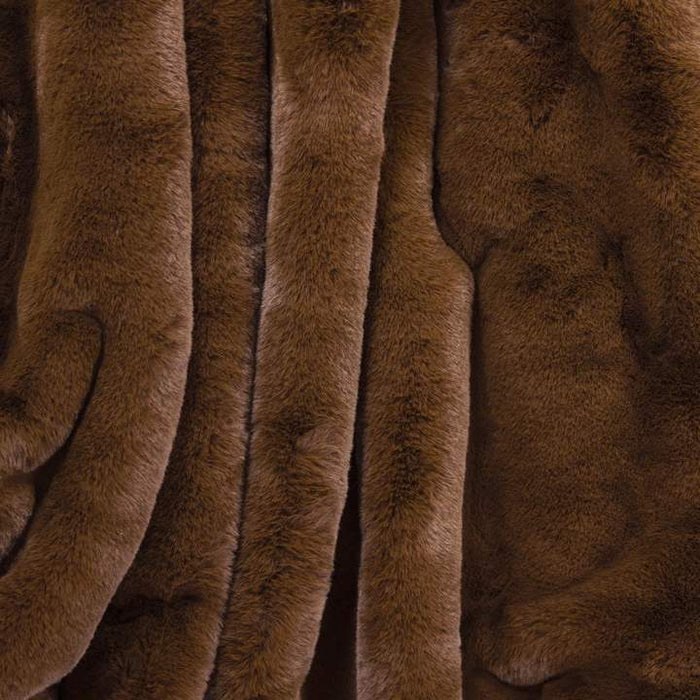 Faux Fur Blanket Large Waterproof Windproof Backing