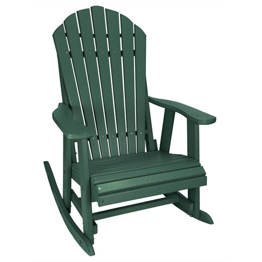 Adirondack Rocker - Adirondack Rocker Poly Lumber Made In The USA