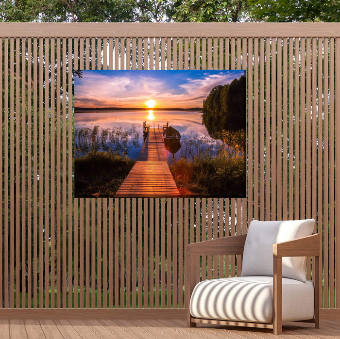 Outdoor Canvas Art 40x30 Cool Dawn