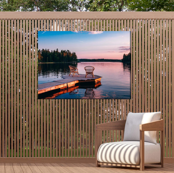 Outdoor Canvas Art 40x30 Alone Together