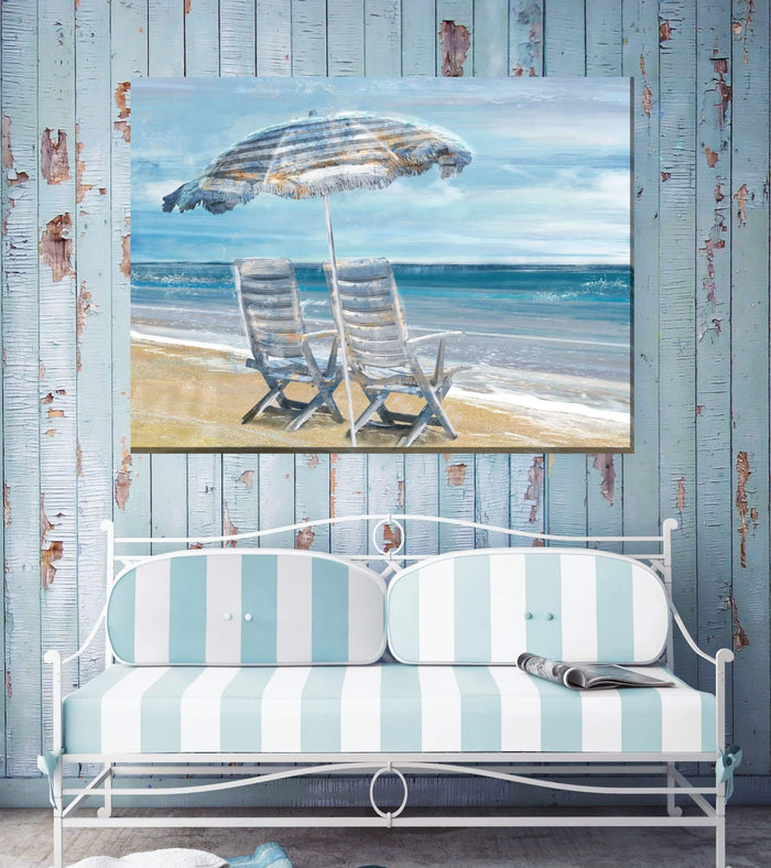 Outdoor Canvas Art 40x30 Waters Edge