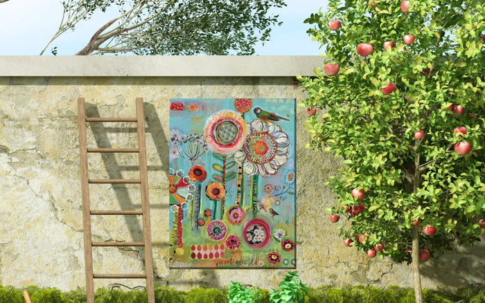 Outdoor Canvas Art 30x40 Sunshiny Day