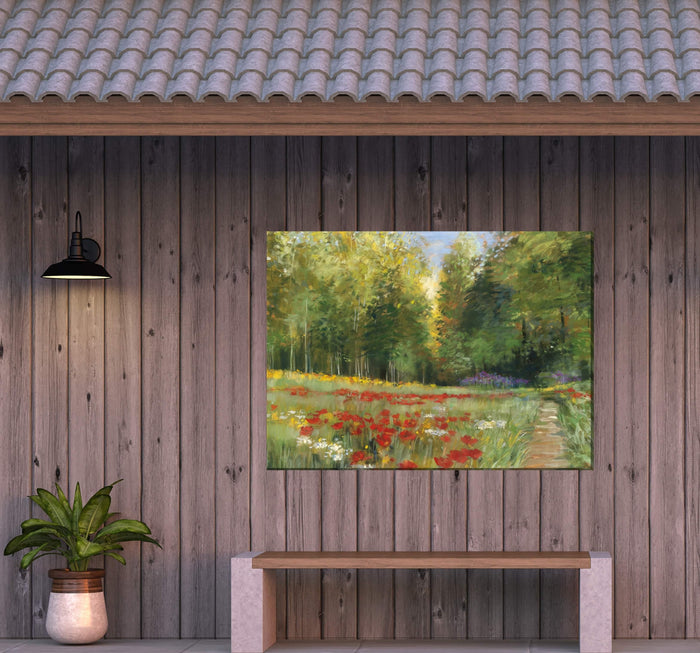 Outdoor Canvas Art 40x30 Wilderness Walk