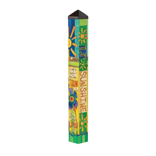 Art Poles - Art Pole - Good Day Sunshine - 3 Feet