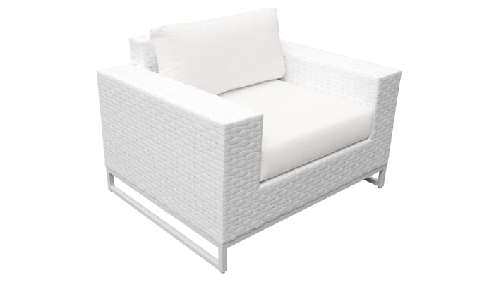 TKC Outdoor Wicker Patio Furniture – 3 Piece Set – Miami
