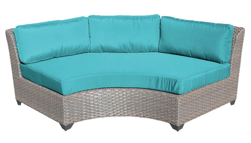 Patio Furniture - TKC Outdoor Wicker Patio Furniture – Curved Sofa – Florence