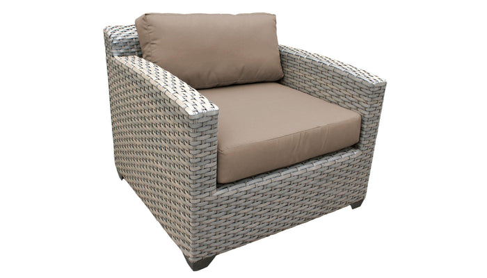 TKC Outdoor Wicker Patio Furniture – Club Chair – Florence