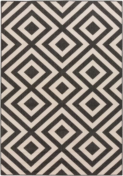 Outdoor Rugs Alfresco - Black & Cream