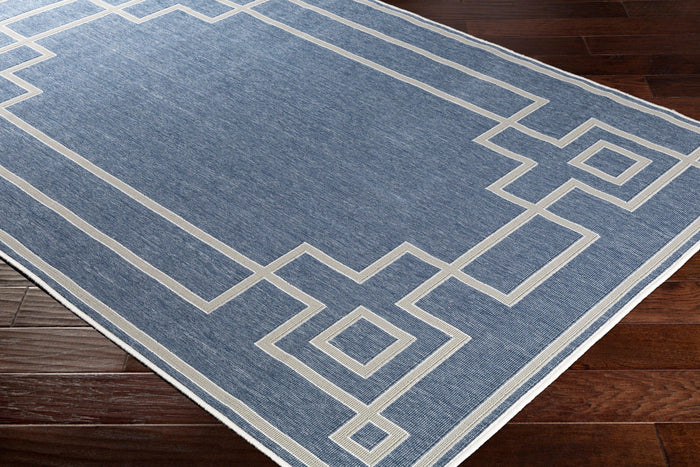 Outdoor Rugs Alfresco - Slate, Taupe & White