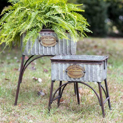 Garden Accessories - Poland Tubs With Stands