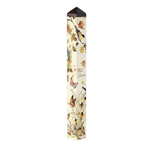 Art Poles - Art Pole - Hello Autumn - 40 Inches
