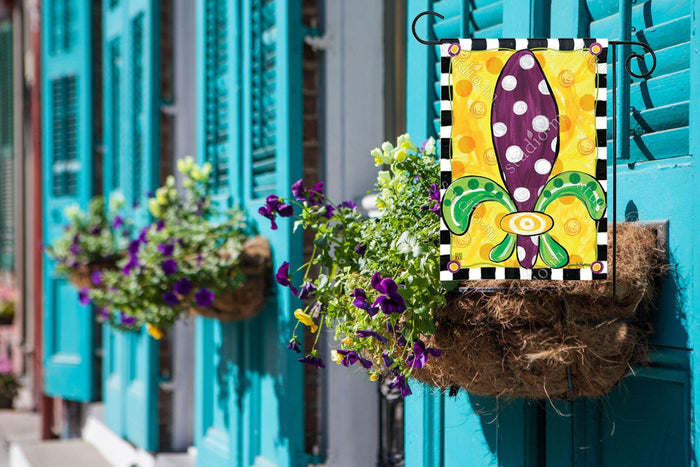 Garden Flags - Garden Flag - BreezeArt - Mardi Gras Fun