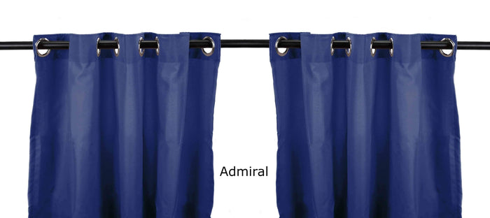 Outdoor Curtains - Outdoor Curtains 54x84 2-Pack