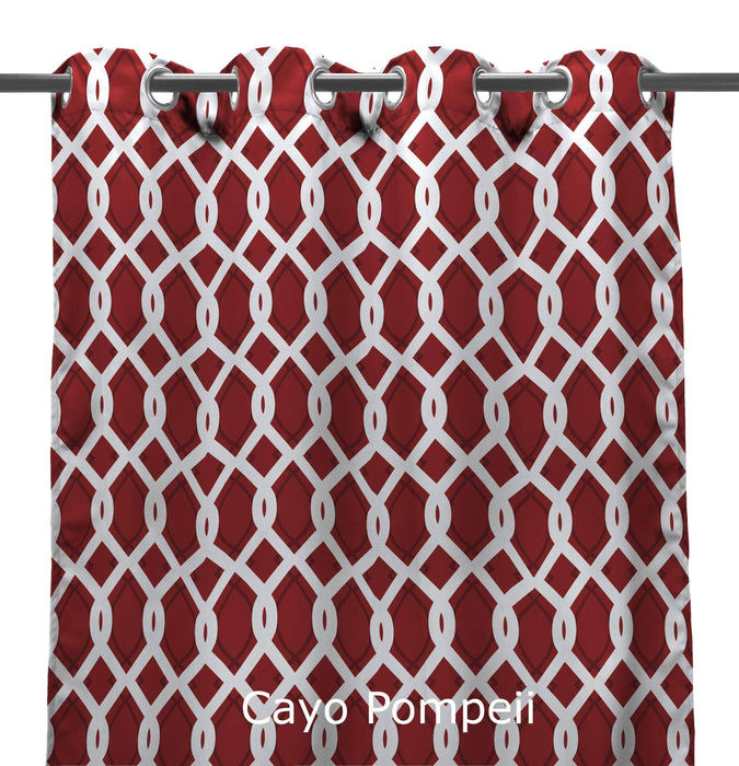 Outdoor Curtains 54x96 2 Pack My Backyard Decor