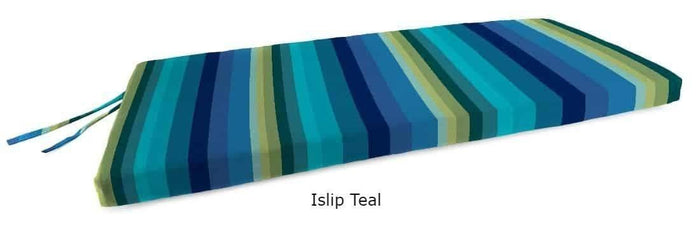 Outdoor Cushions - Outdoor Bench Cushions – Spun Polyester, Knife Edge