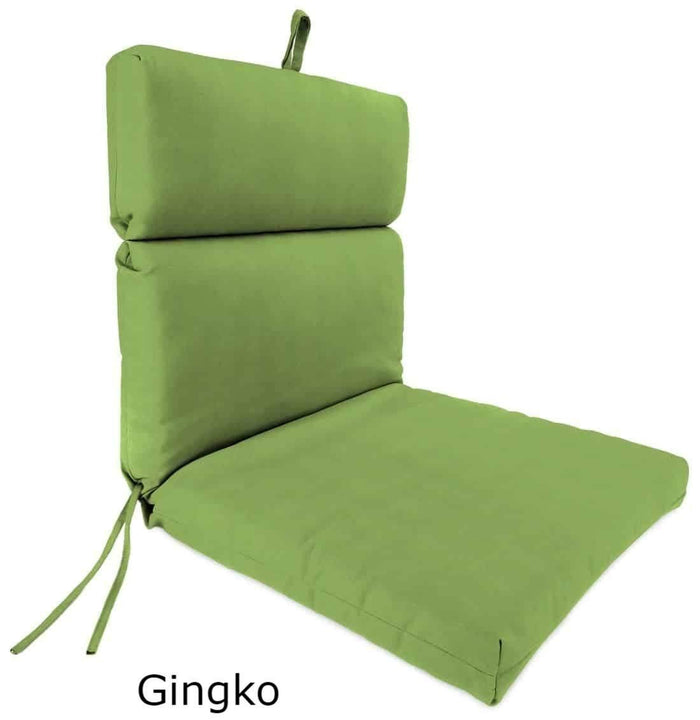 Outdoor Cushions - Outdoor Chair Cushions  – Sunbrella®, Hinged, French Edge
