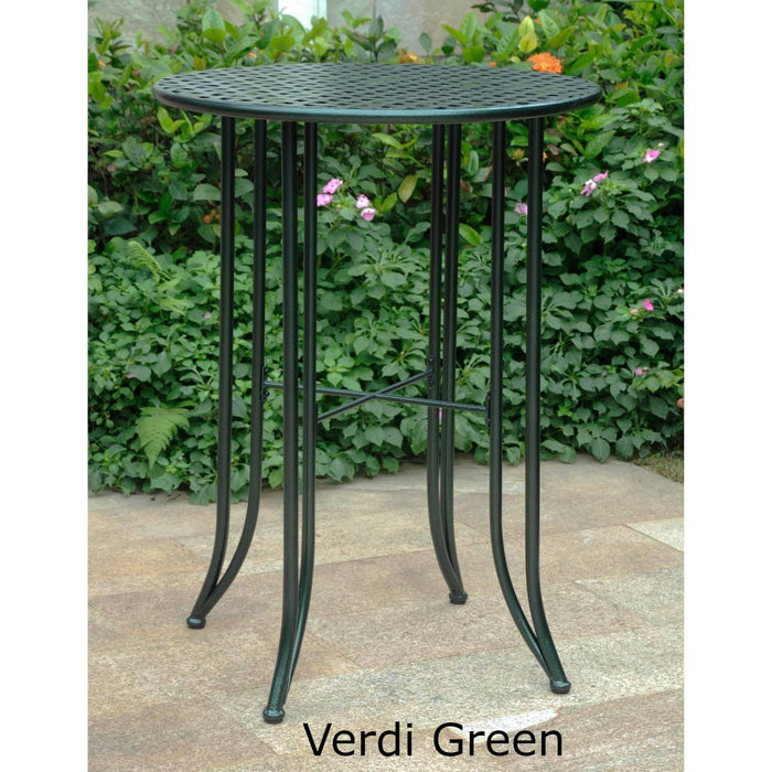 Outdoor Furniture - Bistro Bar Height Table – Powder Coated Iron - Mandalay