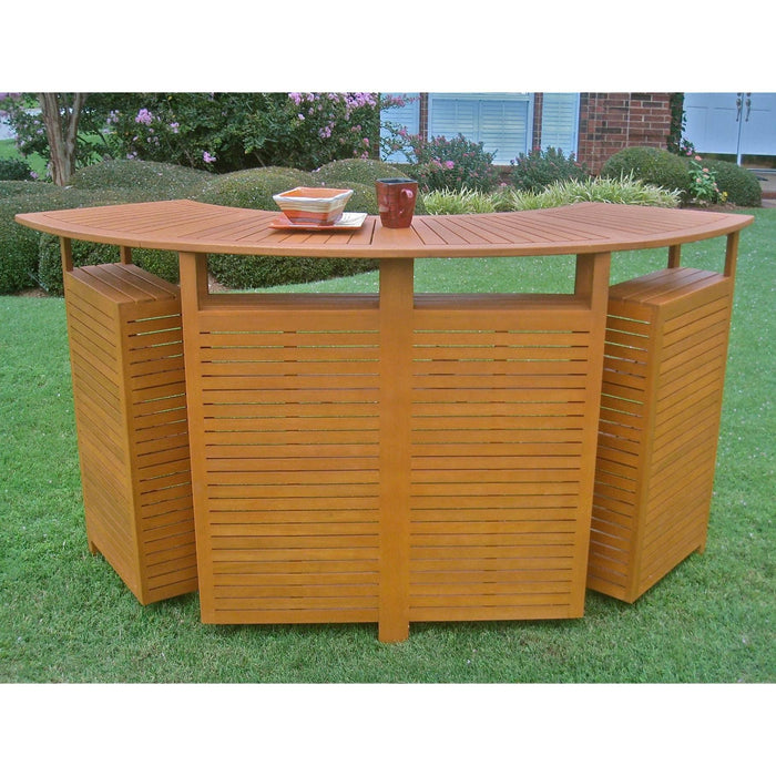 Outdoor Furniture - Outdoor Folding Bar - Balau Wood