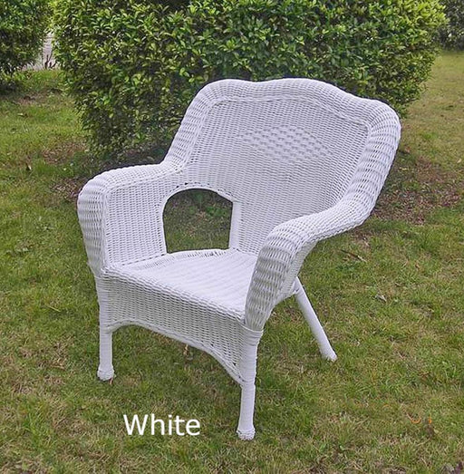 Outdoor Furniture - Patio Chair – Resin Wicker & Steel – Maui