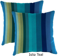 Outdoor Pillows - Outdoor Toss Pillows Set Of 2 – Spun Polyester