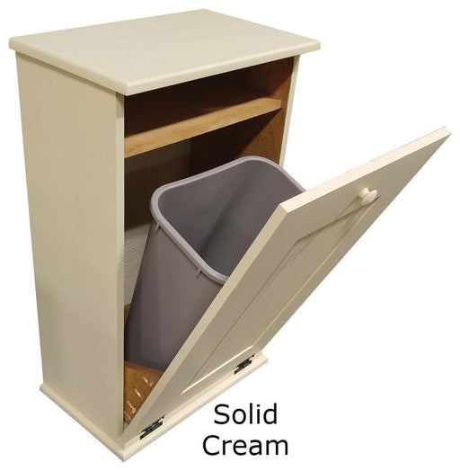 Outdoor Trash Bins - Outdoor Wooden Tilt Out Trash Bin