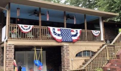 Patriotic Decor - Patriotic Flag Bunting