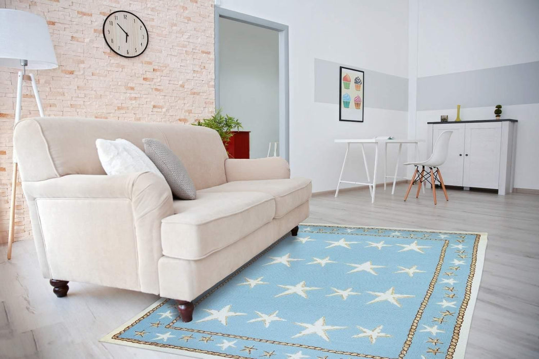 Rugs - Outdoor Rugs Starfish Scatter