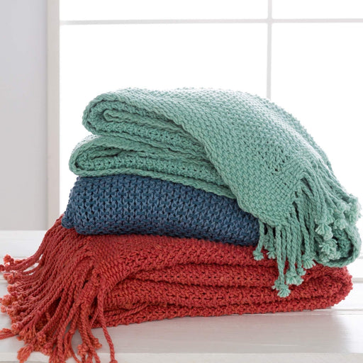 Throws - 50 X 70 Cotton Throw - Tibey