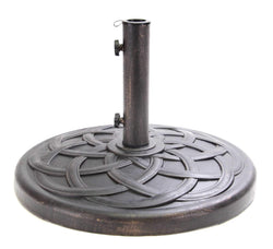 Umbrella Base - Umbrella Base Polystone Round 22 Inches