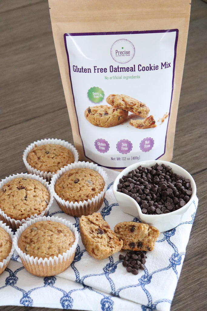 Allergy friendly oatmeal muffins