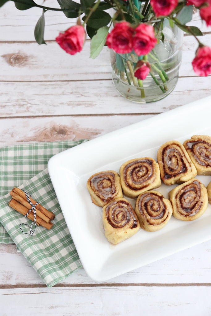 precise gluten free cinnamon buns allergy friendly vegan