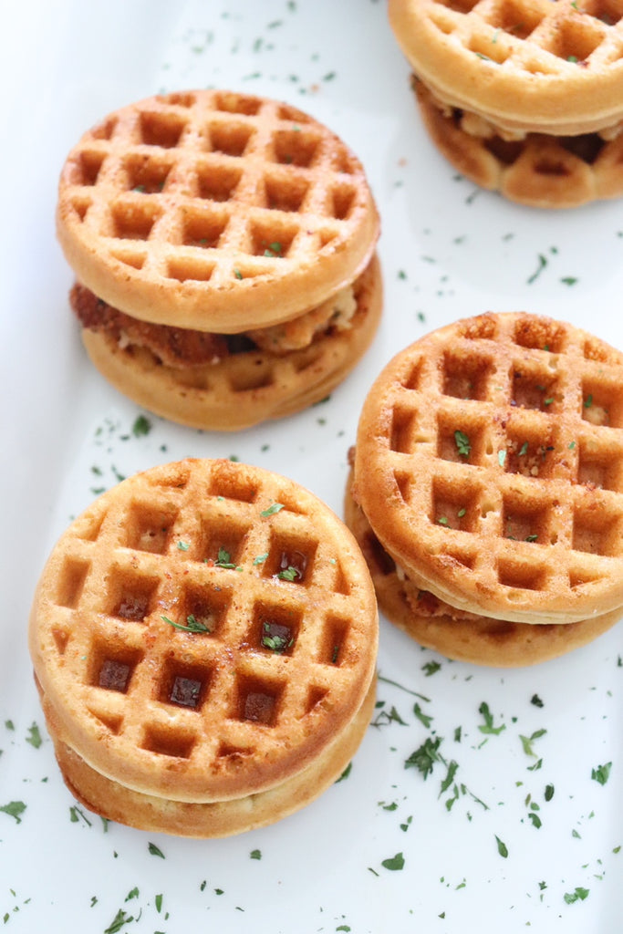 gluten free allergy friendly waffle sliders dairy free