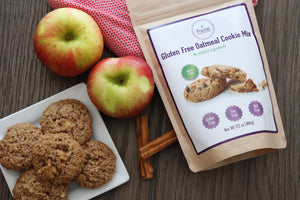 gluten free oatmeal cookie mix allergy friendly vegan