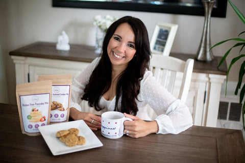 allergy mom and founder precise gluten free