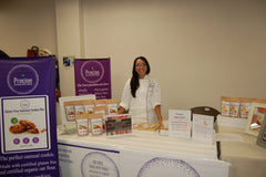 LI Women expo vendor precise gluten free foods